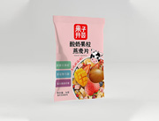 果子�_�C酸奶果粒燕��片36g