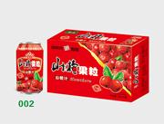衡大山楂果粒310ml