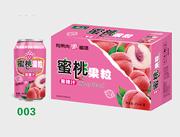 衡大蜜桃果粒310ml