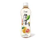 柚子绿茶饮料500ml