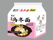 梦立方日式辣白菜牛肉乌冬面116g×5