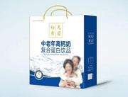初元康道中老年高�}奶蛋白�品低糖型250ml×12