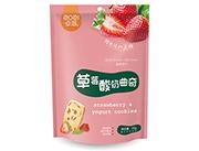 卓滋草莓酸奶曲奇袋�b66g
