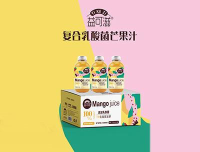 益可滋�秃先樗峋�芒果汁318ml
