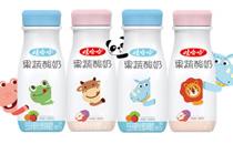 娃哈哈果蔬酸奶 一种选择 三重营养
