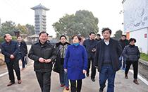 淮南市副市长陆��到八公山泉走访调研