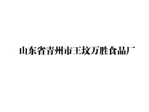 山东省青州市王坟万胜食品厂