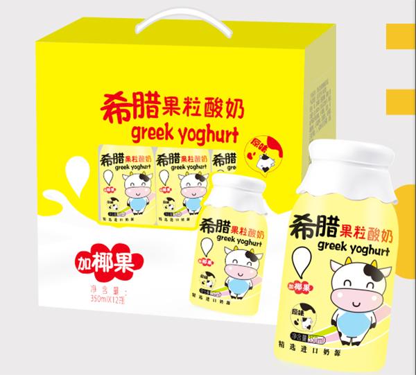 希腊果粒酸奶 有好的卖相 现在全国招商中希望有实力合作
