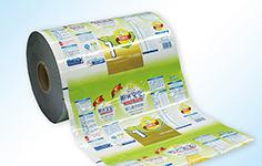 彩印复合膜,印刷复合卷膜,食品膜招商