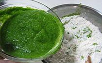 菠菜汁和面,面要想更绿,该怎样做?