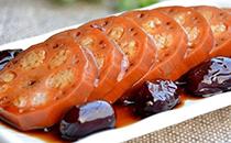 红枣糖藕,香甜软糯,端上桌小孩都抢着吃