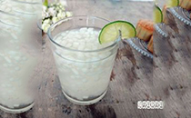 ��檬冰糖雪梨汁