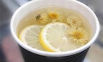 菊花��檬茶的功效