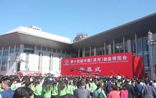 2016第十四届中国(漯河)食品博览会开幕式