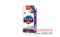 睿奇珍品野生蓝莓饮品,100%原果原味,风靡饮品市场!