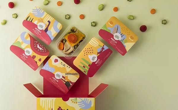 """徐福记""""自然食客""""首款儿童零食盒子"""