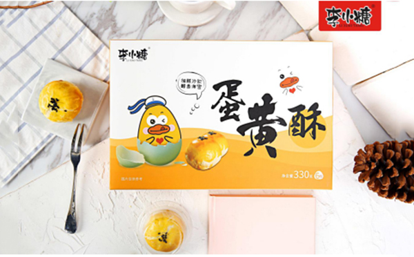 李小糖蛋黄酥――明星力推的健康食品