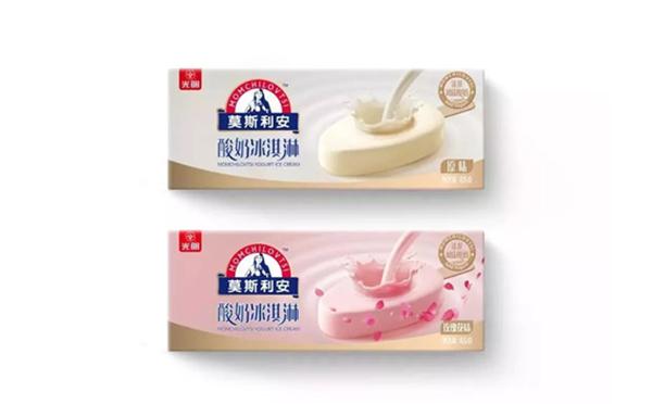 光明乳业连推多款新品,包括莫斯利安冰淇淋!