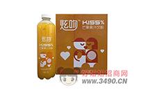 润捷炫吻KISS果汁饮料,美味享受,风靡饮品市场!