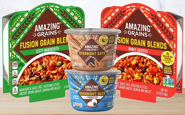 卡夫亨氏推出方便迷你餐新品牌Amazing Grains