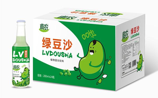 甫农绿豆沙 醇香丝滑 豆香浓郁 营养丰富