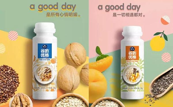 味全推出高端酸奶――谷的优格,主打谷物健康!