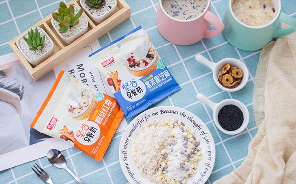 健康传万家,早餐新宠百家赞坚谷早餐奶!