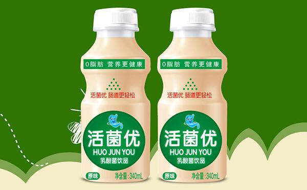 活菌优乳酸菌 0脂肪 营养更健康