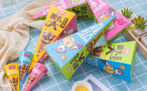 百家赞缤淇淋,营养美味,香脆可口,真得好吃!