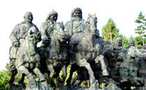 欢迎您来内蒙古游览成吉思汗公园