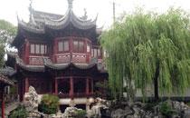 """欢迎来上海参观全国四大文化市场之一""""豫园"""""""