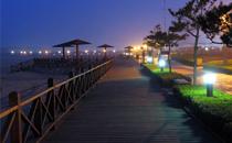 烟台金沙滩海滨公园度假之旅