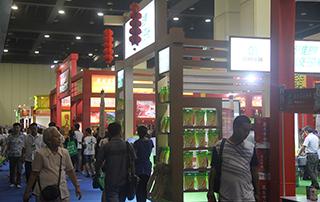 代理商经销商参观第十四届郑州国际糖酒食品交易会