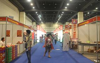 第十四届郑州国际糖酒食品交易会部分展位场景