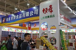 山东领舞食品有限公司在2015南京秋季糖酒会上招商