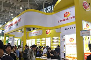 郑州顶真食品有限公司在2015南京秋季糖酒会上招商