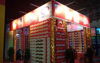 金老大食品在2015中国商丘食品博览会上隆重招商