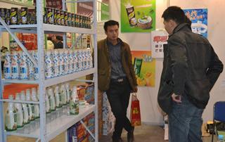 海口椰园食品有限公司糖酒会上产品展示