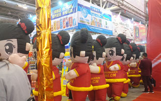 好妞妞招商网参加第11届安徽秋季糖酒会,得到了广大参展商的关注