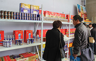 山东尊仕食品饮料有限公司参加石家庄糖酒会