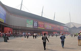 2015年郑州春季糖酒会展会现场