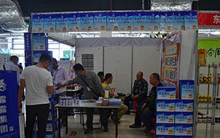 露露集团在2015淄博糖酒会现场招商