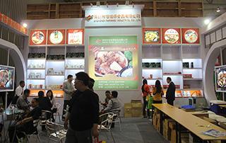 深圳市饭饭得食品有限公司产品在第92届全国糖酒会现场受追捧