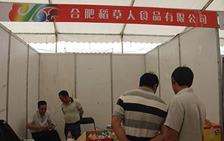 合肥稻草人食品有限公司参展2015漯河食博会