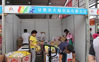 安徽省大福食品有限公司参加第十三届漯河食品博览会