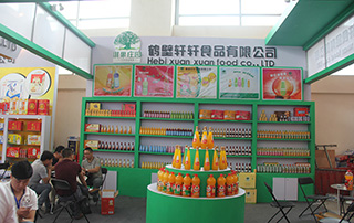 鹤壁轩轩食品有限公司携新品亮相2015漯河食博会