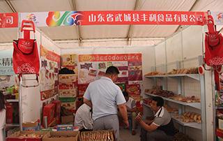 山东省武城县丰利食品有限公司在第十三届漯河食博会上招商