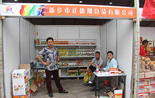 新乡市正德翔食品有限公司参加第十三届漯河食品博览会