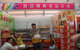 淇县朝阳食品公司参加2015漯河食品博览会