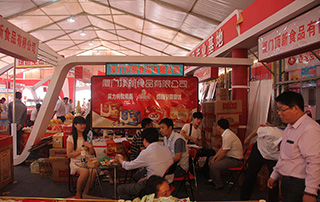 厦门顶新食品有限公司参加2015漯河食品博览会